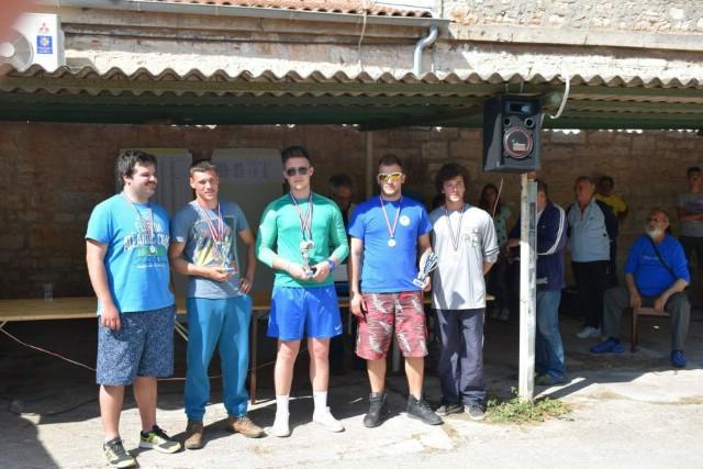 Odlični rezultati SRD Galeba iz Raše i SRD Plomina na Međuopćinskom prvenstvu istočne Istre u sportskom ribolovu (seniori i juniori U21 štap s brodice)
