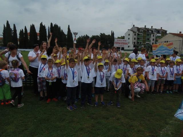 Završnica Olimpijskog festivala dječjih vrtića Istarske županije: Pobjednički pehar labinskom vrtiću