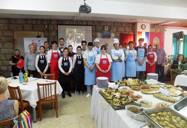 Održan praktični dio završnog ispita za kuhare i konobare labinske Srednje škole