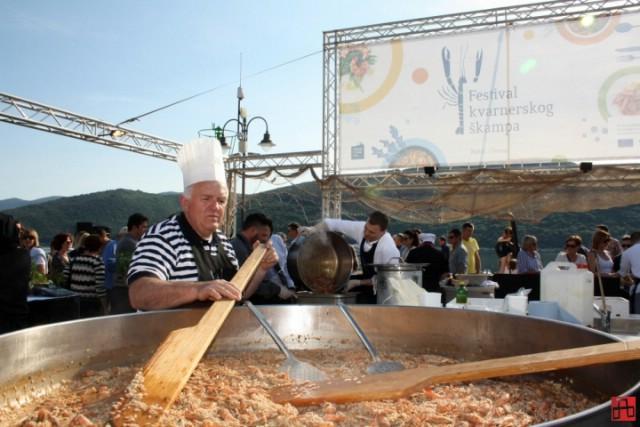 Za sutrašnji 2. Festival kvarnerskog škampa osigurano 300 kilograma škampa
