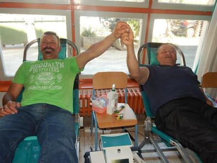 VIDEO: U Labinu održana peta ovogodišnja akcija dobrovoljnog darivanja krvi - Sabina Osmić prvi put darivala krv