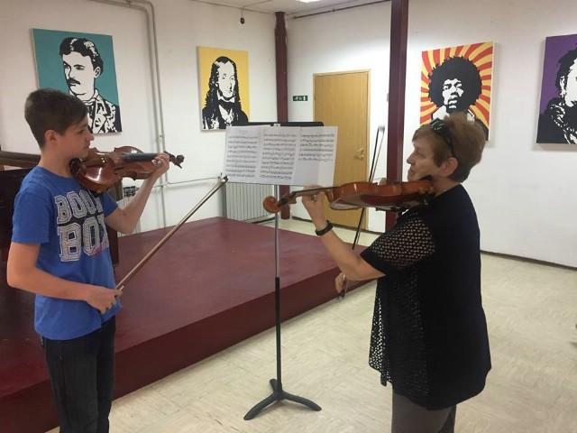 Održan seminar za učenike i učitelje violine UŠ Matka Brajše Rašana