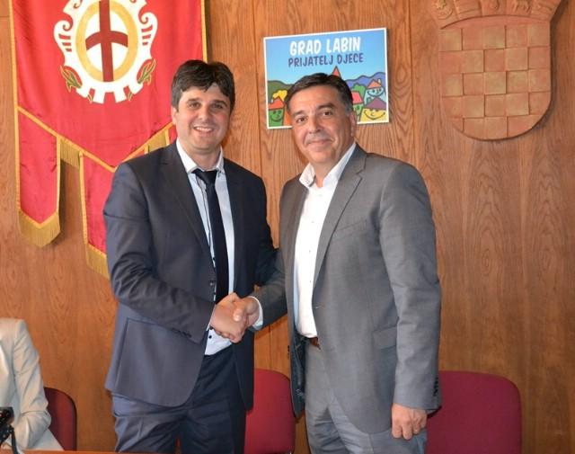 Gradonačelnik Valter Glavičić danas službeno preuzeo gradonačelničku dužnost