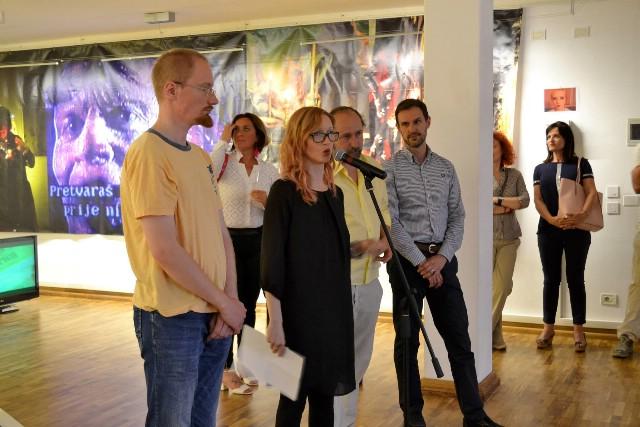 u Gradskoj galeriji Labin, otvorena je samostalna izložba 3. OTOK DR. MOREAUA, autora Danka Friščića