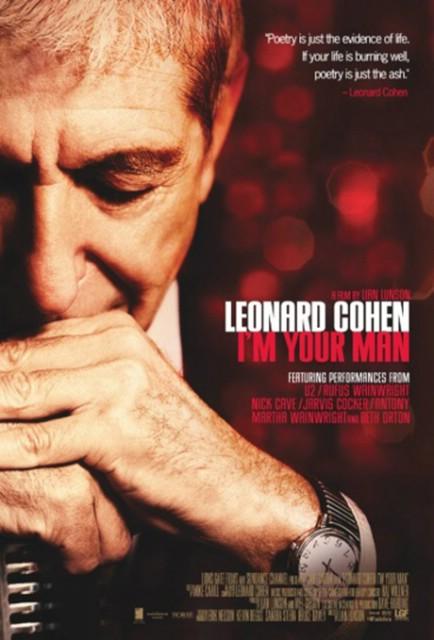 Kino Labin: U sklopu Revije glazbenog filma 9. i 10. lipnja dokumentarni film LEONARD COHEN: I`M YOUR MAN!