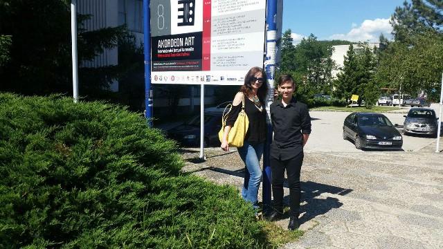 Luka Blažina osvojio II.nagradu na 8. Međunarodni festival harmonike Akordeon Art