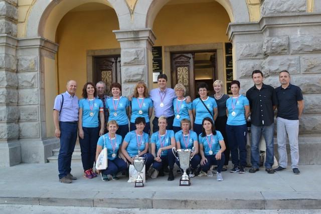 Održan prijem za labinske boćarice prvakinje države