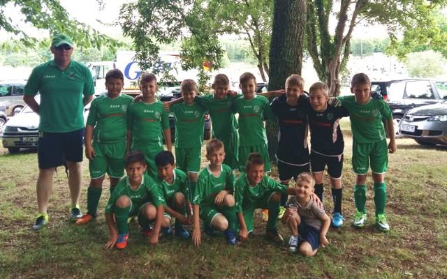Najmlađi nogometaši NK Rudara igrali u Poreču i na Cresu