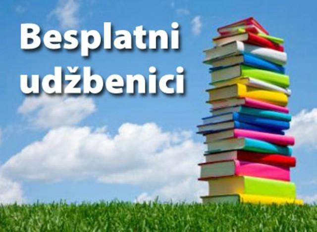 Besplatni udžbenici za djecu 1. - 4. razreda osnovnih škola