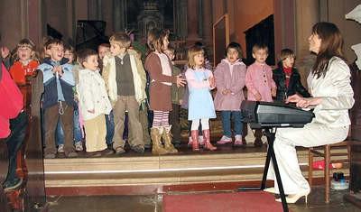 Božićni koncert labinske osnovne glazbene škole Matko Brajša Rašan