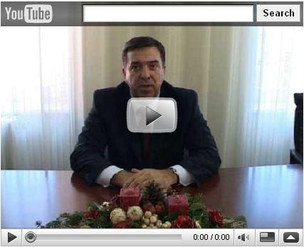 Labinski gradonačelnik Tulio Demetlika  preko YouTube-a zaželio građanima sretan Božić i uspješnu 2009. godinu (VIDEO)