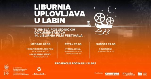 Liburnia uplovljava u Kino Labin