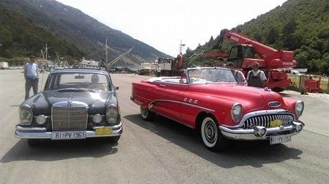 Rally vožnja oldtimera u Plomin luci