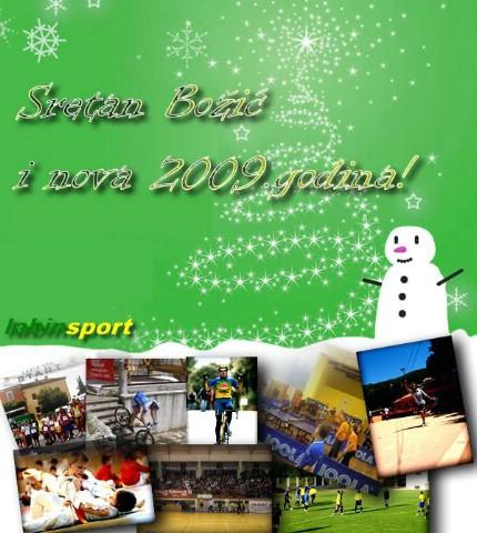 """Satirični prikaz sportskih događanja u Labinu sa porukom: """"U 2009. bolje, molim!"""""""