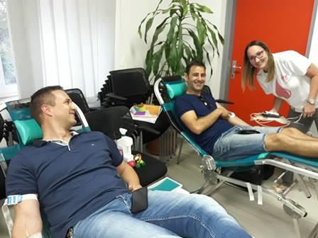 U Labinu i Koromačnu prikupljeno 55 doza krvi