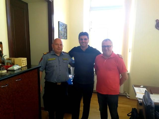 Održan sastanak sa Vatrogasnom zajednicom Istarske županije