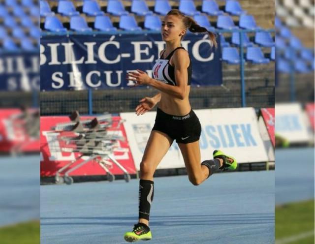 Ivana Knapić brončana na 800 metara na prvenstvu Hrvatske za seniorke