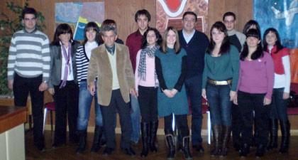 Na samom kraju 2008. održan prijem za nagrađene gradske stipendiste