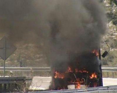 Kamion u vlasništvu 65-godišnjaka iz Pićna zapalio se na cesti Žminj - Svetvinčenat
