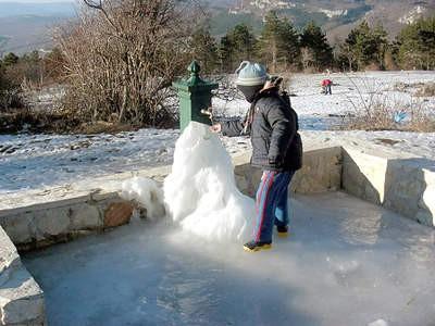 Snježne radosti na Učki
