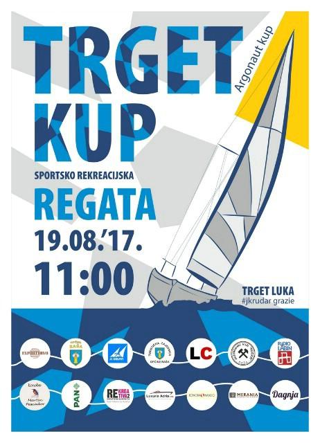 Prvi Trget Kup - Sportsko-rekreacijska regata 19. kolovoza 2017. godine