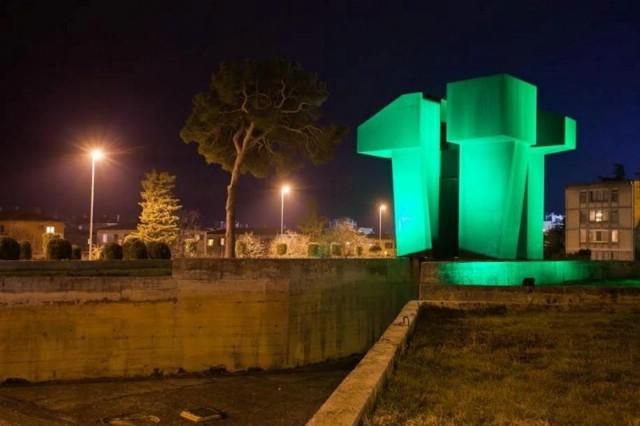 U povodu Dana Grada od 9. do 18. kolovoza bit će osvijetljeni Šoht i Spomenik rudaru borcu