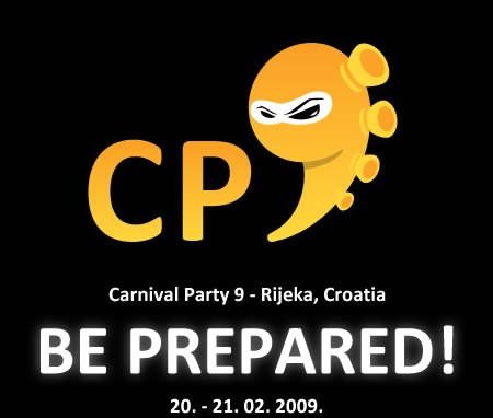 Carnival Party 9 @ Rijeka 20.02. & 21.02.2009.