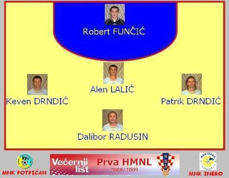 I Hrvatska malonogometnma liga: Potpićan 98 - Inero u 21 sat