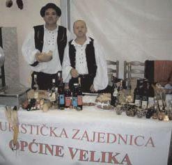 RKUD »Rudar« na blagdanu vina Vinkovo 2009. u Velikoj kraj Požege