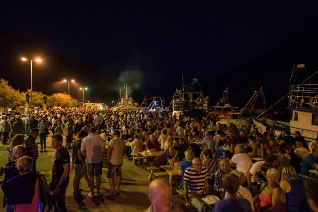 Nekoliko tisuća posjetitelja na ribarskoj fešti u Plominu