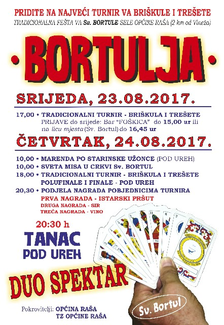 """Tradicionalna """"Bortulja"""" u Svetom Bartulu"""