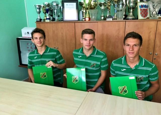 Nakon Blažine, još tri nova stipendista NK Rudara
