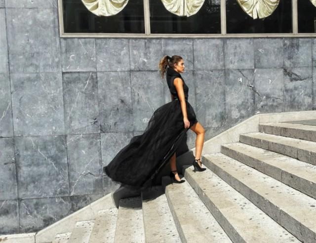 Labinska modna kreatorica Eni Surijan na 11. Riječkim stepenicama