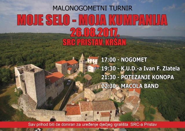 """""""Moje selo, moja kompanija"""" sutra u Kršanu"""