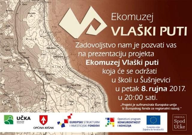 Prezentacija projekta Ekomuzeja Vlaški puti u Šušnjevici