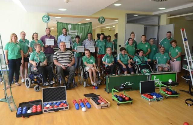 I Općina Pićan donirala sportsku opremu za boćanje osoba s invaliditetom
