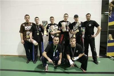 Marino Faraguna treću u semi kontaktu na međunarodnom kickboxing turniru u Italiji
