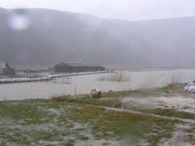 Zbog obilne kiše poplave opet prijete uz tok rijeke Raše