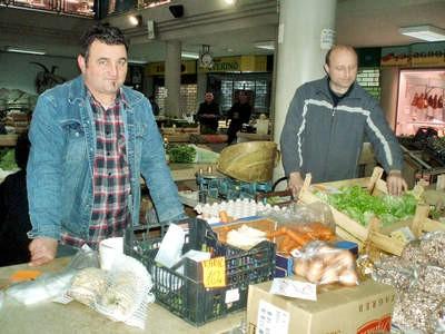 Đir po labinskoj tržnici: Slabija ponuda zbog kiše