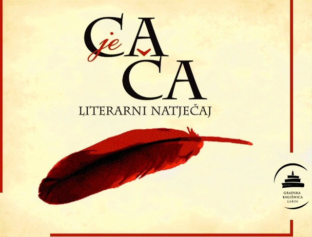 """Raspisan 14. Literarni natječaj """"CA JE ČA"""" do 20. 10. 2017. godine"""