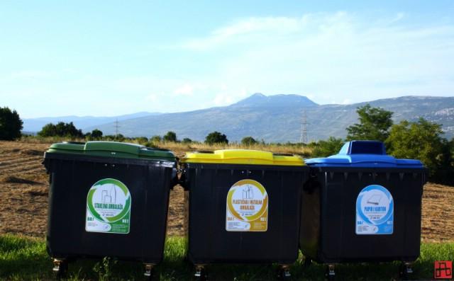 Građani Općine Kršan uskoro će dobiti nove posude za komunalni i selektirani otpad