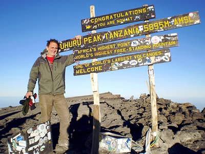 Mladen Bratulić, 50-togodišnji rapčanin, prvi s Labinštine osvojio Kilimandžaro