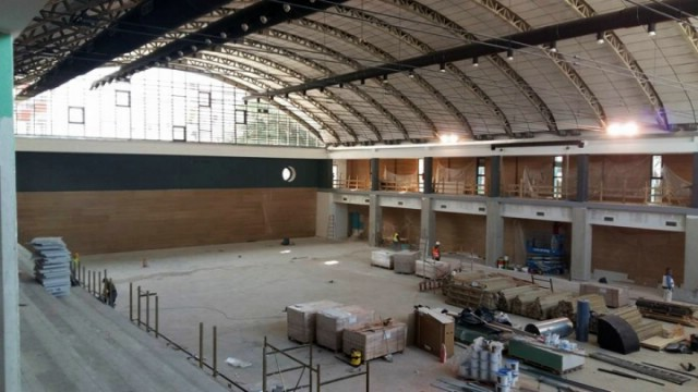 "Radovi na velikoj dvorani Sportskog centra ""Franko Mileta"" bliže se kraju"