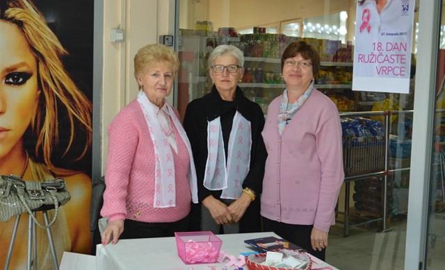 Labin: Obilježen Dan ružičaste vrpce