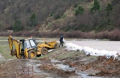Nepovoljne vremenske prilike na Labinštini: Strah od novih poplava u Raškoj dolini