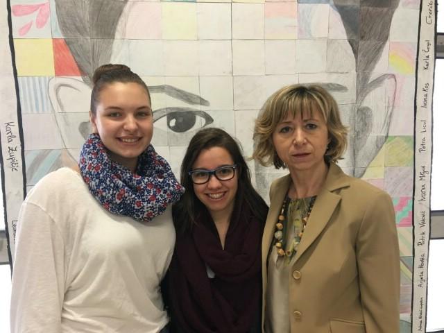 "Anđelika  Licul   i  Rea  Žigant  osvojile  drugo mjesto  na  literarnom  natječaju ""Erfolgsgeschichten  mit  Deutsch"""