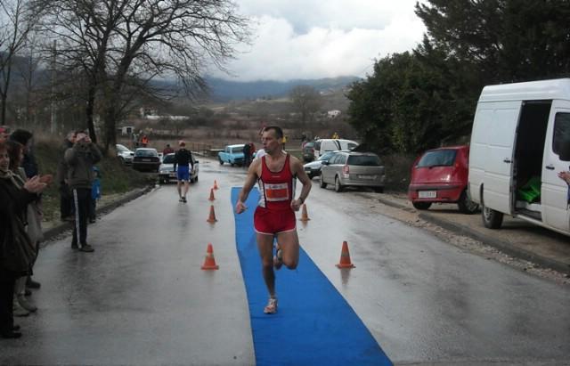 Ivan Stanić drugi u Tupljaku, 5 kolo Istarske zimske lige u trčanju (Galerija fotografija)