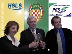 Lista koalicije HSS-HSLS-PGS za 8. izbornu jedinicu