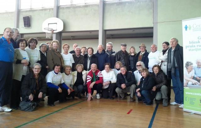 Poziv za iskaz interesa za sudjelovanje na 5. Olimpijadi za osobe starije životne dobi