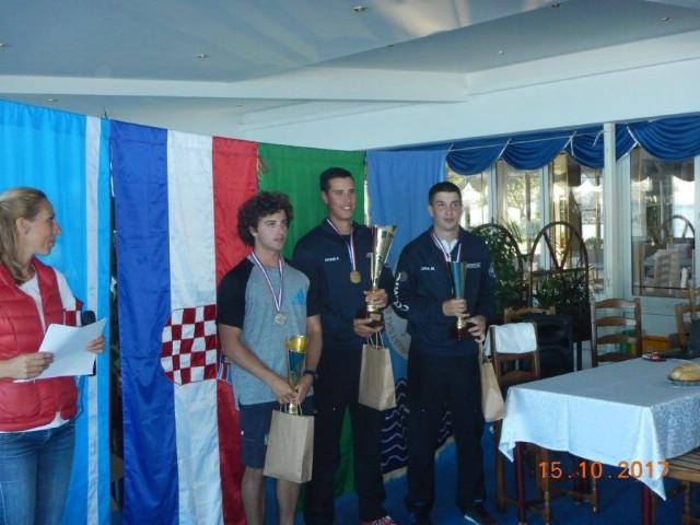 Dilan Mileta viceprvak Hrvatske (U-21) u sportskom ribolovu štapom s obale